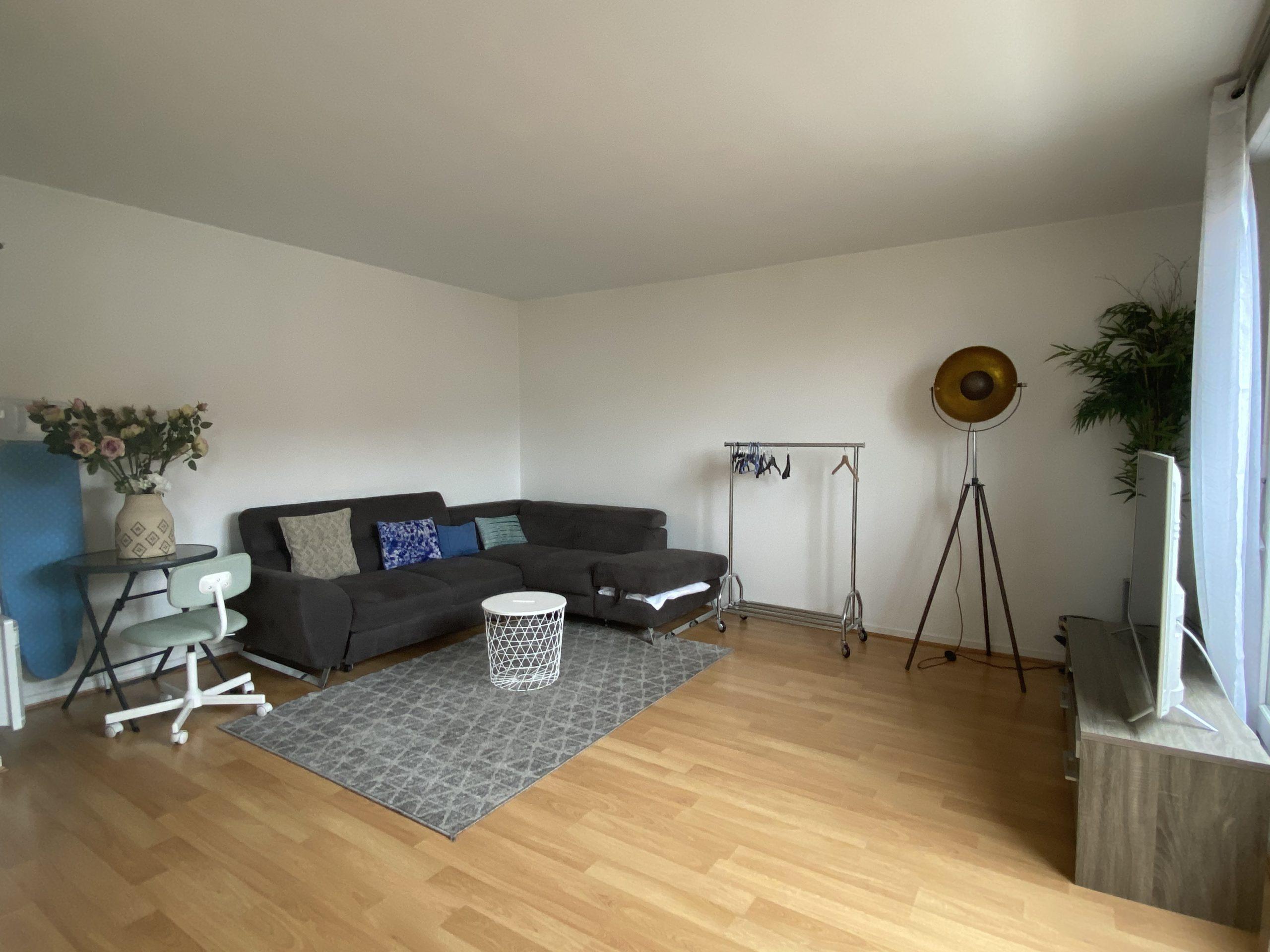 Appartement 3 pièces meublé Saint-Denis