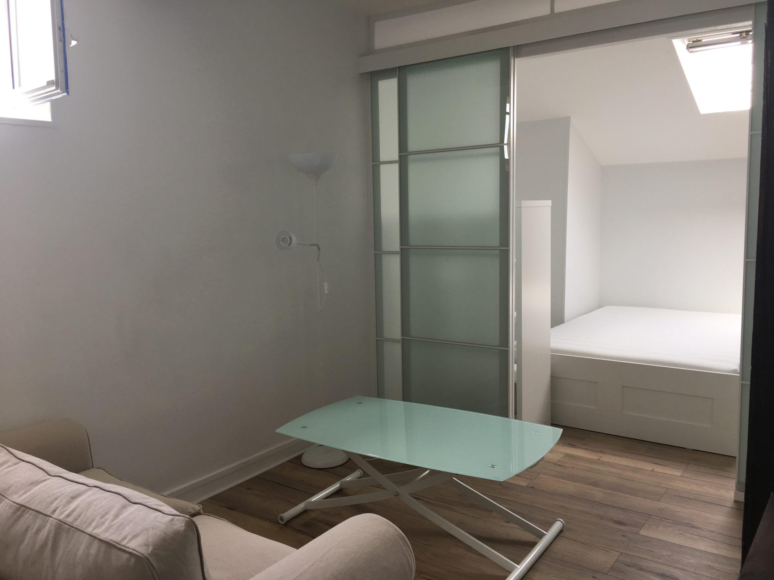 Studio meublé de 27,5m² à Versailles